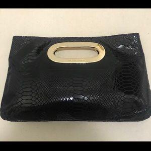 Michael Kors bag. Black python with gold.
